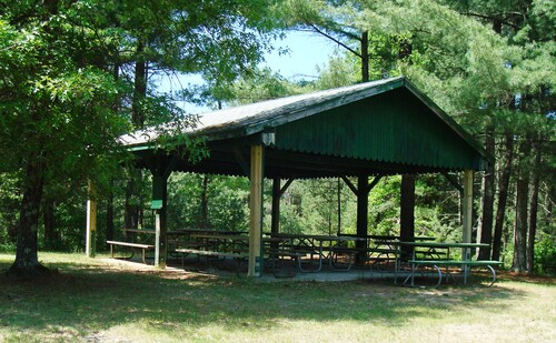 Coon Fork Lake County Park Shelter